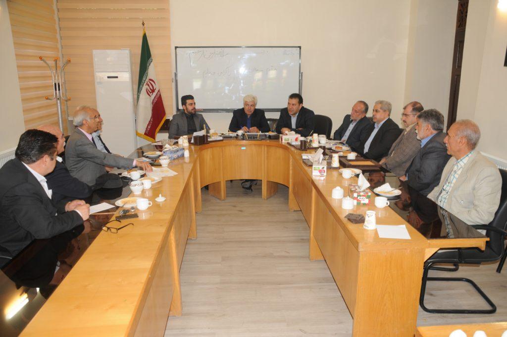 دیدار انجمن خیرین مدرسه ساز  رودهن با اعضا شورای اسلامی شهر و شهردار رودهن در خصوص ساخت مدرسه توسط خیر مدرسه ساز