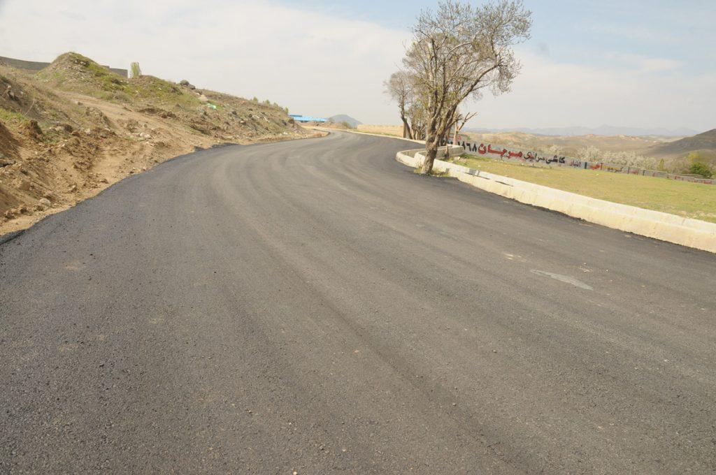 زیر سازی و آسفالت خیابان نمیر (اطراف بزرگراه)