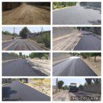 عملیات زیرسازی و آسفالت خیابان اقبال لاهوری