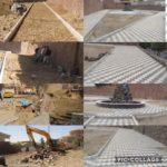 عملیات احداث پارک خیابان سجادیان رودهن