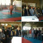 برگزاری مسابقات تکواندوجام بخش رودهن
