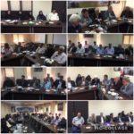 برگزاری جلسه شورای اداری بخش رودهن