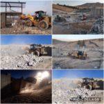 تخریب ساخت و سازهای غیر مجازدر چناران