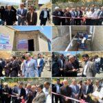 افتتاح تاسیسات آبرسانی و ایستگاه پمپاژشهرک نور