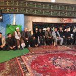 حضور شهردار و شورا در حسینیه
