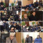 برگزاری جلسه ساخت کلینیک تامین اجتماعی در دفتر شهردار
