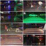 عملیات خط کشی عابر پیاده در طرح استقبال از مهر توسط شهرداری رودهن