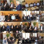 جلسه هم اندیشی اعضای شورا و سرپرست شهرداری رودهن با مسئولین