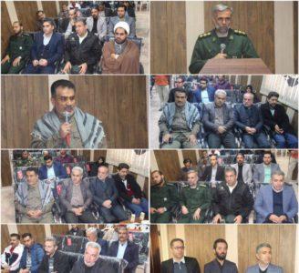 افتتاح پایگاه بسیج شهید محسن حججی به مناسبت هفته بسیج