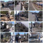 آماده سازی فضای سبز شهرداری رودهن