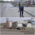 جمع آوری سگهای بلاصاحب  توسط خدمات شهری شهرداری رودهن