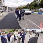 بازدید شهردار رودهن از پروژه های عمرانی