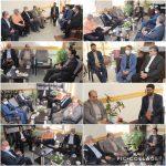 دیدار اعضای شورا و شهردار رودهن با رئیس حوزه قضائی بخش رودهن