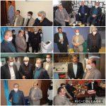 دیدار اعضای شورای اسلامی شهر و شهردار رودهن با رئیس مرکز جراحی نکو شهر رودهن