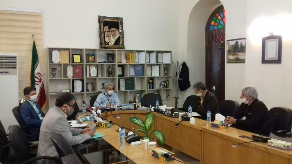 برگزاری جلسه رییس کمیته امداد امام خمینی (ره) رودهن با اعضای شورای اسلامی شهر رودهن