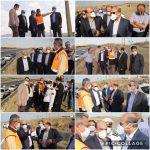 بازدید اعضای کمیسیون اجرایی مدیریت حمل و نقل استان تهران از تقاطع غیر همسطح مهرآباد