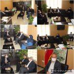 دیدار رئیس اداره ورزش و جوانان بخش رودهن با اعضای شورا و شهردار