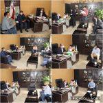دیدار مردمی شهردار در  خصوص حل مشکلات مردم