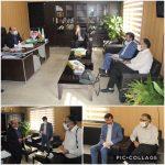 دیدار شهردار با سر پرست اداره فرهنگ و ارشاد اسلامی شهرستان دماوند