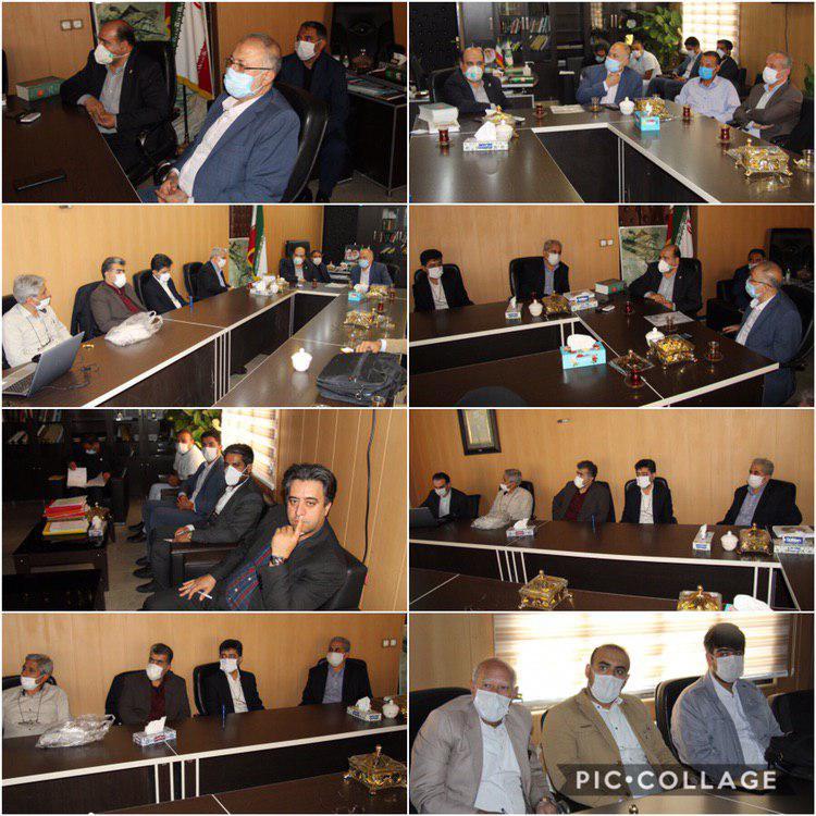 دیدار نماینده مردم در مجلس شورای اسلامی و شهردار رودهن