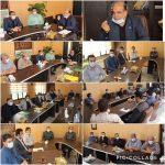 جلسه هم اندیشی شهردار رودهن با مدیران و مسئولین شهرداری