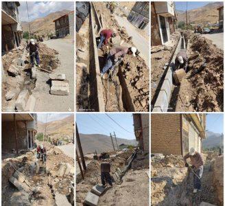 جدول گذاری خیابان میر یعقوبی سادات محله