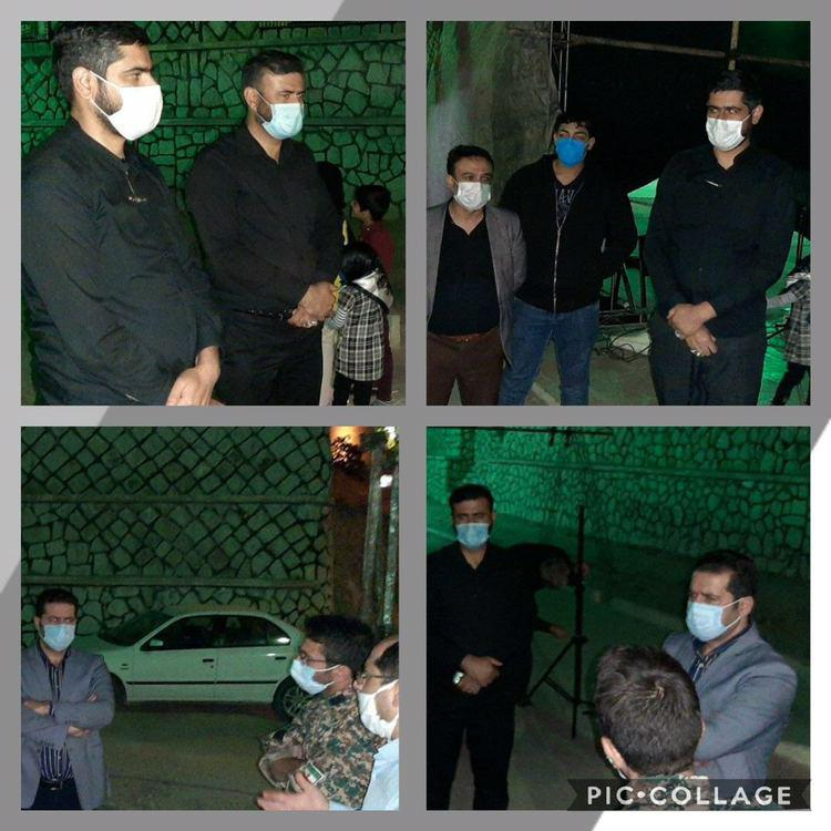بازدید از وضعیت مزار شهدای گمنام