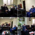 دیدار سرپرست جدید شهرداری رودهن با بخشدار