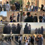 بازدید نماینده مردم و سرپرست شهرداری رودهن از محلات مسکن مهر