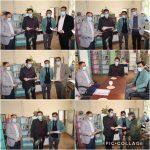 تجلیل بابایی سرپرست شهرداری  از کتابداران به مناسبت روز کتابدار و کتابخوانی