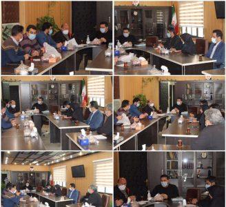 برگزاری جلسه ستاد بحران شهرداری رودهن