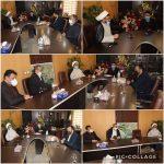 دیدار امام جماعت مسکن مهر با شهردار جدید