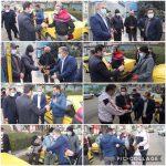 تجلیل بابایی سرپرست شهرداری رودهن از فعالان عرصه حمل و نقل شهرداری
