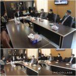 دیدار اعضای شورای اسلامی روستا و دهیار مهرآباد با حنیفی شهرداری رودهن
