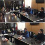 جلسه مسئولین در خصوص برق رسانی