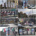 فضاسازي شهر رودهن به مناسبت فرا رسيدن دهه مبارك فجر