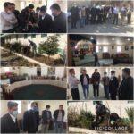 بازدید شهردار و همتی عضو شورای شهر از باشگاه ورزشی بستان