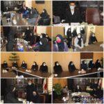 مراسم تجليل از بانوان شاغل در شهرداري رودهن برگزار شد.