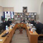 نشست اعضای شورای اسلامی شهر و شهردار با فرمانده انتظامی بخش رودهن