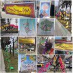 فضا سازي شهر رودهن به مناسب فرا رسيدن نيمه_شعبان توسط شهرداري رودهن
