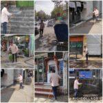 عمليات ضدعفوني و گندزدايي خيابان ها و معابر شهر رودهن در راستاي كنترل شيوع ويروس كرونا و حفظ سلامت شهروندان