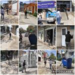 عملیات ضد عفونی و گند زدایی ادارات و اماکن شهر رودهن